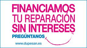 Financiación sin intereses Dupesan