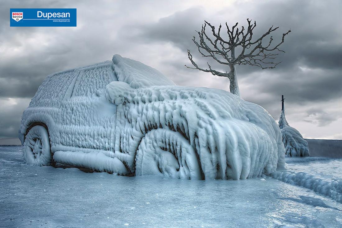 Prepara tu coche para el invierno